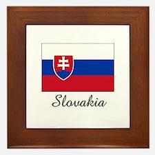 Cute Nationality143 Framed Tile