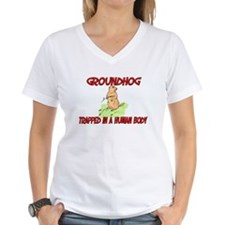Groundhog trapped in a human body Shirt