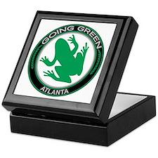 Going Green Atlanta Frog Keepsake Box