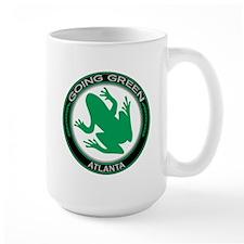 Going Green Atlanta Frog Mug
