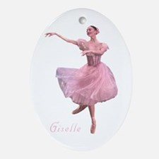 Ballerina Princess Oval Ornament