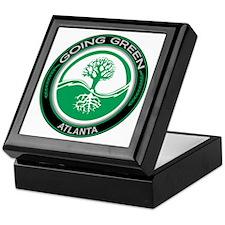 Going Green Atlanta Tree Keepsake Box
