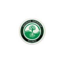 Going Green Atlanta Tree Mini Button
