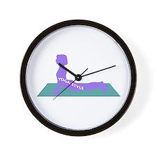 OWN YOGA STYLE Wall Clock