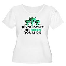 Go Green slogan T-Shirt