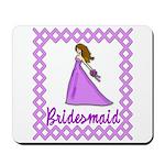 Lilac Bridesmaid Mousepad