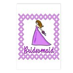 Lilac Bridesmaid Postcards (Package of 8)