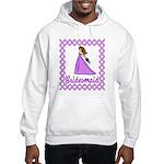 Lilac Bridesmaid Hooded Sweatshirt
