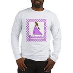 Lilac Bridesmaid Long Sleeve T-Shirt