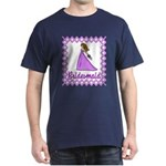 Lilac Bridesmaid Dark T-Shirt