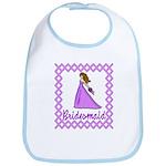 Lilac Bridesmaid Bib