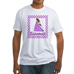 Lilac Bridesmaid Fitted T-Shirt