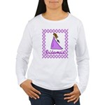 Lilac Bridesmaid Women's Long Sleeve T-Shirt