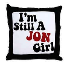New Kid Jon Throw Pillow