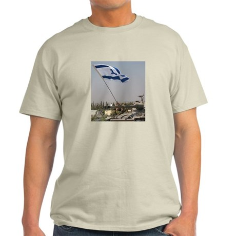 Our Flag Our Land Israel Light T-Shirt