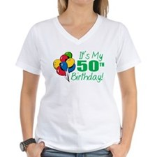It's My 50th Birthday (Balloons) Shirt