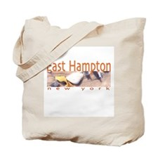Driftwood Beach East Hampton Tote Bag