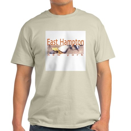Driftwood Beach East Hampton Ash Grey T-Shirt