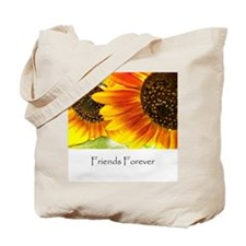 Friends Forever Sunflowers Tote Bag