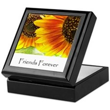 Friends Forever Sunflowers Keepsake Box