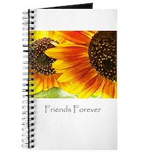 Friends Forever Sunflowers Journal
