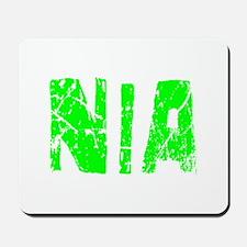 Nia Faded (Green) Mousepad