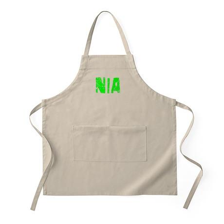 Nia Faded (Green) BBQ Apron