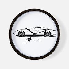 Luxury Lamborghini Miura Wall Clock