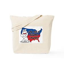 Bulldog Country Tote Bag