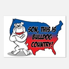 Bulldog Country Postcards (Package of 8)