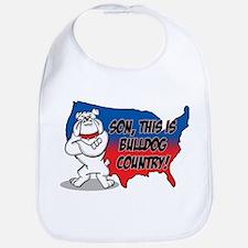Bulldog Country Bib