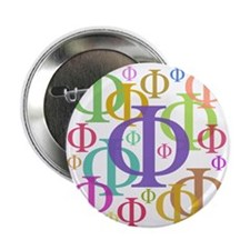 """Phi 2.25"""" Button (10 pack)"""