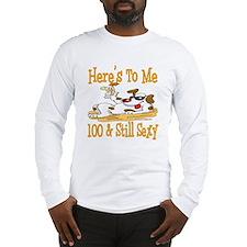 Cheers on 100th Long Sleeve T-Shirt