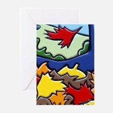 One More Leaf Greeting Cards (Pk of 10)