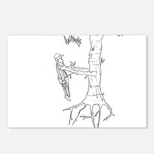 Trees Fight Back (b/w) Postcards (Package of 8)