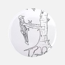 """Trees Fight Back (b/w) 3.5"""" Button"""
