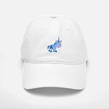 Blue Awareness Ribbon Goofkins Unicorn Baseball Baseball Cap
