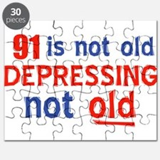 91 birthday design Puzzle