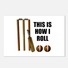This Is How I Roll Cricket Postcards (Package of 8