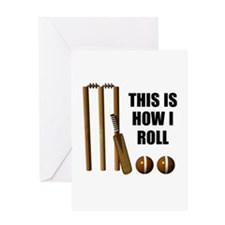 This Is How I Roll Cricket Greeting Card