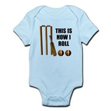 This Is How I Roll Cricket Infant Bodysuit