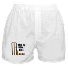 This Is How I Roll Cricket Boxer Shorts