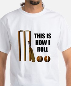 This Is How I Roll Cricket Shirt