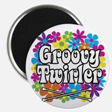 Groovy Twirler Magnet