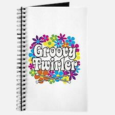 Groovy Twirler Journal