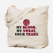 Blood sweat vball Tote Bag