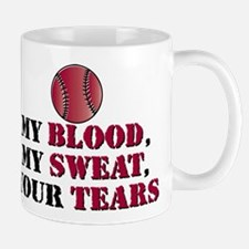 Blood sweat vball Mug