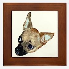chihuahua Framed Tile