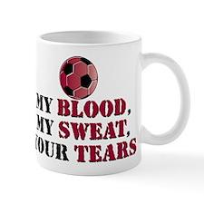Blood Sweat Soccer Mug