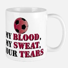 Blood Sweat Soccer Mug